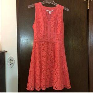 LC Lauren Conrad mixed lace dress